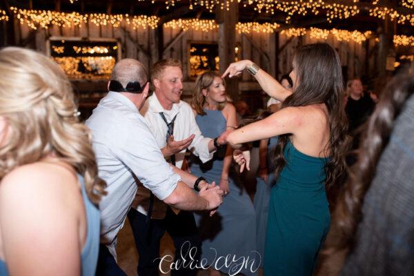 Dance floor moves!