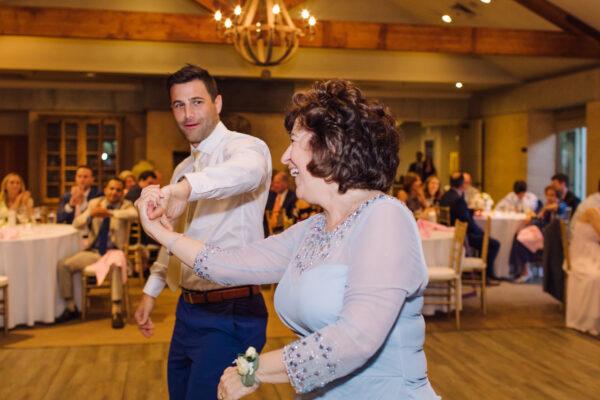 Mother Son Dance at Destination Wedding
