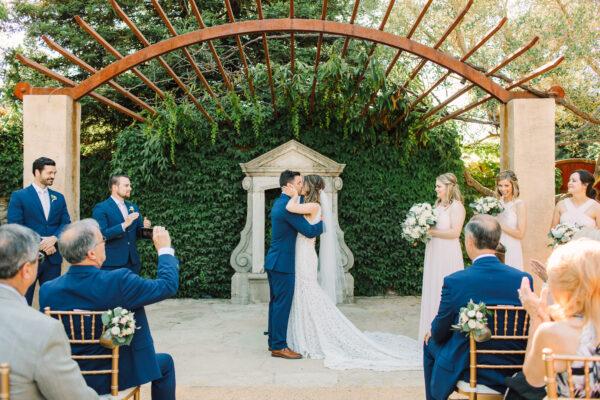 Destination Wedding Ceremony at Seven Branches Venue & Inn