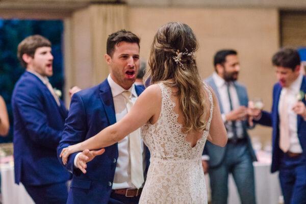 Sonoma wedding reception