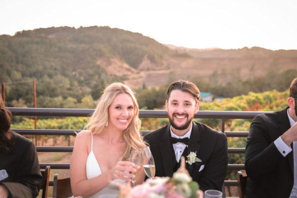 Dry Creek Valley Wedding Reception at Sbragia Vineyards