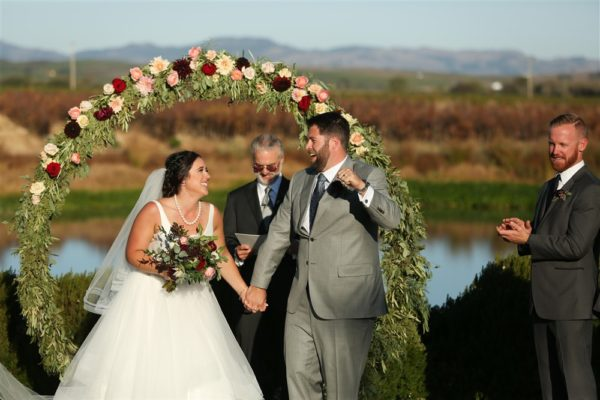 Wine Country ceremony at The Barn at Tyge William Cellars Sonoma