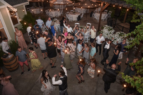 Partying the night away at Mountain House Estate
