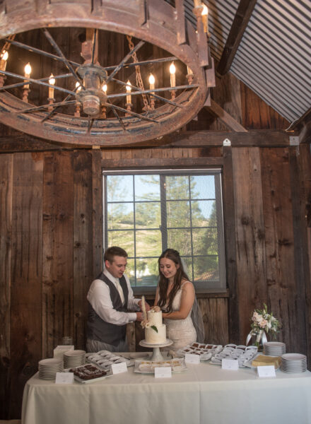 Rustic and elegant wedding at Mountain House Estate