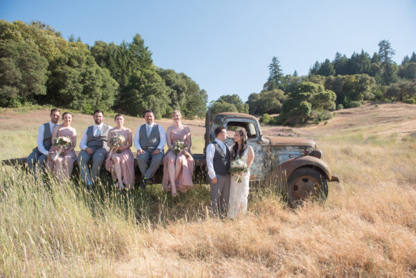 Wine Country DJ at Cloverdale wedding